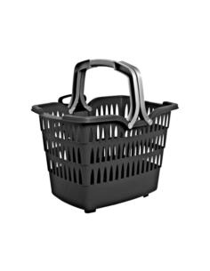 Koszyk ROMEO (na rower) z kołami i wysuwaną rączką
